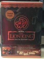 VERY RARE the Lion King Special Edition DVD Walt Disney! 9 Exclusive Portraits!