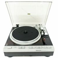 Denon DP-47F Turntable Direct Drive Fully Automatic Turntable fully tested d341