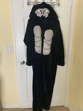 Soft Fleece Gorilla Halloween Costume Adult Xl 1pc Zipper Hooded