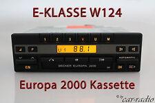 Becker Europa 2000 BE1100 Kassettenradio Mercedes W124 E-Klasse C124 Autoradio