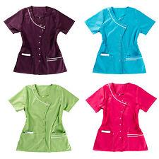 Beb Damenkasack 4 Farben Pflege Schwestern Labor Krankpflege Plegedienst XS-3XL