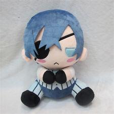"12"" Black Butler Kuroshitsuji Ciel Phantomhive Soft Plush Stuffed Doll Toy Gift"