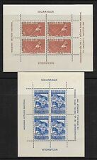 Nicaragua sc#717-#729 mint set of 13 souvenir sheets mint nh vf 1949 Sports set