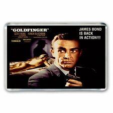 SEAN CONNERY- JAMES BOND 007 -GOLDFINGER - POSTER ART JUMBO FRIDGE MAGNET