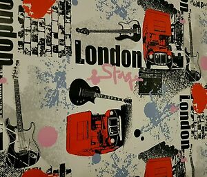"Klebefolie Selbstklebendefolie 450x45cm Grundpreis€/m²  3,33€ ""London"""