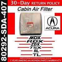 Genuine OEM Honda ACURA Cabin Air Filter     (80292-SDA-407)