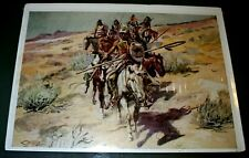 """Canvas Indians 11x14 Print /""""Single-Handed/"""" by Charles Marion Russell"""
