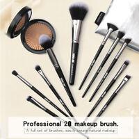 20PCS Cosmetic Make up Brushes Set Foundation Blusher Eyeshadow Lip Brush Tool