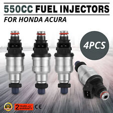 550cc High Impedance Injectors for Civic Integra ACURA D B F H K R SERIES VTEC
