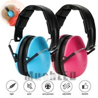 Earmuffs for Kids Hearing Protection Foldable Defenders w/ Adjustable Padded