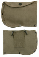 Olive Drab Camping Axe Ax Sheath Case Small Canvas With Belt Loop Rothco 779