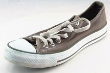 Converse all Star Lace Up Fashion Sneakers Gray Fabric Women Shoes 8 M