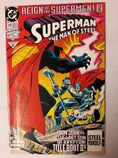 Superman: The Man of Steel #24 (Aug 1993, DC) COMIC BOOK NM UNREAD    36
