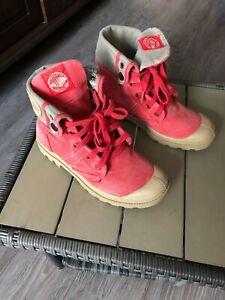Palladium Gr. 38, rot, Boots