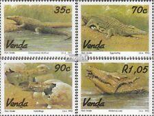 Zuid-Afrika - Venda 246-249 (compleet.Kwestie.) First Day Cover 1992 Krokodilzuc