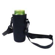 Water Bottle Cooler Tote Bag Insulated Holder Carrier Cover Pouch Travel Bag