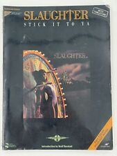 Slaughter Stick It To Ya Guitar Tab Tablature Music Songbook Up All night 1990