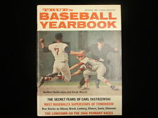 1968 True's Baseball Yearbook