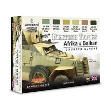 LIFECOLOR BRITISH TANKS AFRIKA E BALKAN CAUNTER SCHEME SET.1 CS43