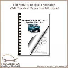 VW Transporter/Bus T4 (90-03) Inspektion, Wartung, Pflege - Reparaturanleitung