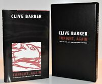 **SIGNED LTD ED** Tonight, Again Tales of Love AUTOGRAPHED BOOK Clive Barker HX