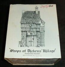 Dept 56 Dickens' Village Heritage Village Collection Bean & Son Smithy Shop Read