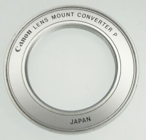 Canon Converter P for M-42 Lenses to Canon FD Bodies  #1 ......... Minty