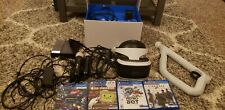 Sony PlayStation VR PS4 Virtual Reality Headset Core Bundle with 3 Games