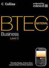 BTEC National Business - Student Textbook by Mark Gardiner, Andrew Dean,...