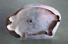 TIN Flat-Backed COOKIE CUTTER Pig Design Circle HF Pennsylvania Folk Art 1980s?
