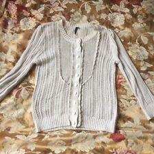 Vintage topshop cream grandma cardigan