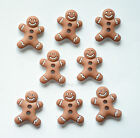 Iced Cookies / Gingerbread Shape Sew Thru Buttons / Dress It Up Holiday
