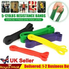Heavy Duty Exercise Resistance Latex Loop Bands Fitness Home Yoga Gym Pull Up 7P