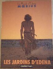Le Monde D'Edena T2 Les Jardins d'Edena - Moebius EO 1988 TBE