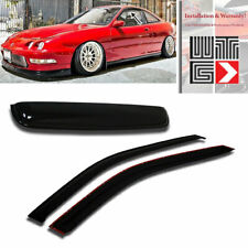Window + Sunroof 3pc Visor Shade Rain Guard For 1994-2001 Acura Integra 2 Door