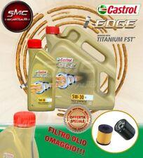 5 LITRI OLIO MOTORE CASTROL EDGE FST 5W30 5-30 LL + FILTRO OLIO OMAGGIO