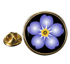 Forget Me Not Lapel Pin Badge Gift