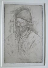 Etching Mortimer Menpes - A Merchant China - Signed within plate