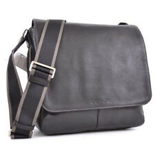 Coach Bag Coach Men's Bag Heritage Web Leather Map Black F70555 Agsbeagle Paypal