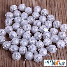 10 LED luce bianca luminosi tondi palloncini matrimonio bombola elio balloon