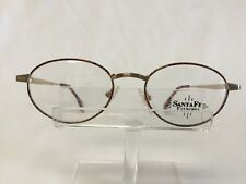 Vintage VIENNA line 1825 Eyeglasses Sunglasses Gold Tortoise Round