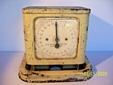 Vntge Art Deco Style Unusual Kitchen Scale R.A. HUNTER SCALE CO Norristown PA