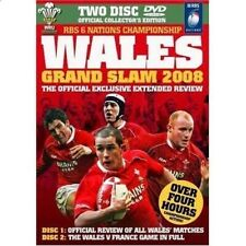 New listing Dvd Wales Grand Slam 2008 Official Review Collectors Edition