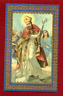 SANTINO SAN ORONZO VESCOVO IMAGE PIEUSE - HOLY CARD- Heiligenbild