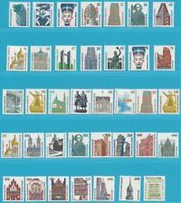Bund aus 1987-1999 ** postfrisch Freimarken Sehenswürdigkeiten in DM-Währung!