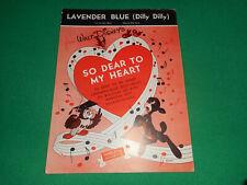 Walt Disney 1948 Lavender Blue (Dilly Dilly)
