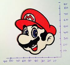 Super Mario Iron On/Sew On Patch/Badge Embroidered Fancy Dress #5