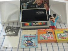 VINTAGE 1981 UNISONIC MICKEY MOUSE TALK BACK COMPUTER COMPLETE IN BOX  DISNEY