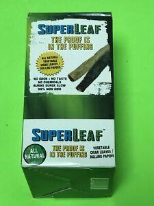 FREE GIFTS🎁Super Leaf🍁100 High Quality Natural Vegetable Leaves Wraps 50pks💨♨