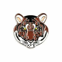 Bengal Tiger Enamel Lapel Pin Badge/Brooch Face Head Conservation Gift BNWT/NEW
